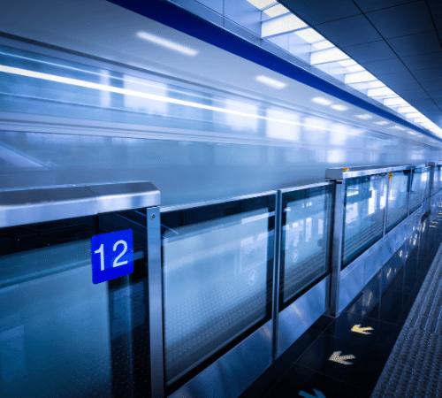 University park - light train