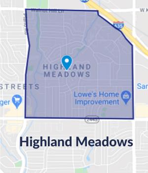 Dallas Floors - Service Area-Highland Meadows,TX