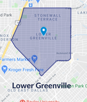Dallas Floors - Service Area-Lower Greenville,TX