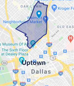 Dallas Floors - Service Area-Uptown, TX